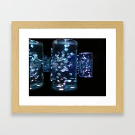 TRAPPED BUBBLES Framed Art Print