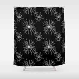 Widow's Web Shower Curtain
