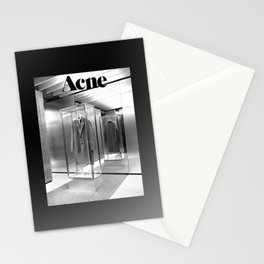 ACNE - BLACK WHITE Stationery Cards