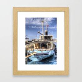 Lutteur Motor Yacht Framed Art Print