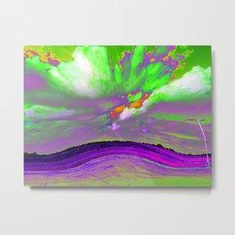 Gloria J Zucaro's Texas Landscape Abstract Digital Landscape Photo Art Print #4 Metal Print