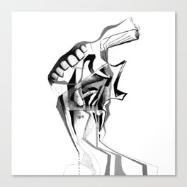 Consumer.. Canvas Print