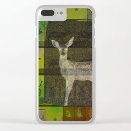 The Animal World Clear iPhone Case