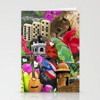 puerto rico Stationery Cards featuring Puerto Rico - Isla del Encanto by Linnette G. { LG Design Studio Gallery }