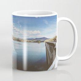 Fontana Dam Panorama • Appalachian Trail Coffee Mug