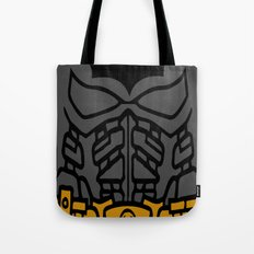 The Lego Knight Rises Tote Bag