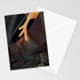 Glinting Fiery Tendrils Stationery Cards