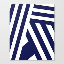 Nautical Stripes Canvas Print