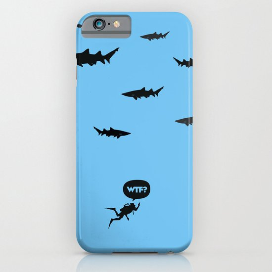 WTF? Tiburones! iPhone & iPod Case
