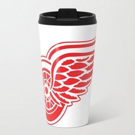 Detroid Red Wings Logo Travel Mug