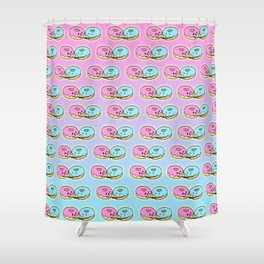 Give me a hug donut Shower Curtain