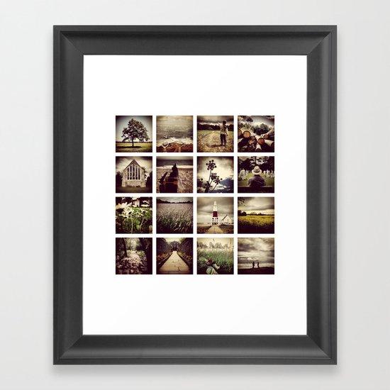 Instadeck South England Framed Art Print