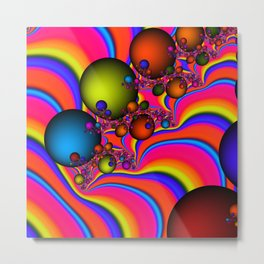Blinding Color Metal Print