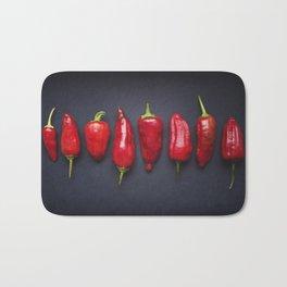 Chili Pods Bath Mat