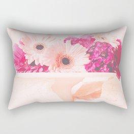 Let Them Eat...Flowers Rectangular Pillow