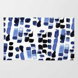 Blue Swatches Rug