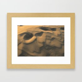 thar desert, Jaisalmer, Rajasthan Framed Art Print