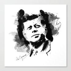 John F. Kennedy JFK Canvas Print