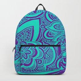 Purple Flowers Backpack