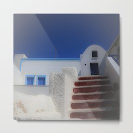 Santorini, Greece 7 Metal Print