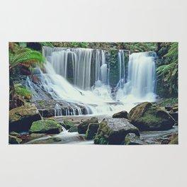 Horseshoe falls Tasmania Rug