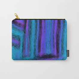 Fuzzy Blues Carry-All Pouch