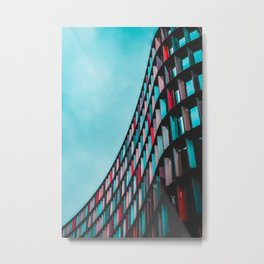 Architecture Live In Color Metal Print