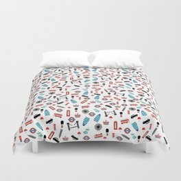 London Icons Duvet Cover