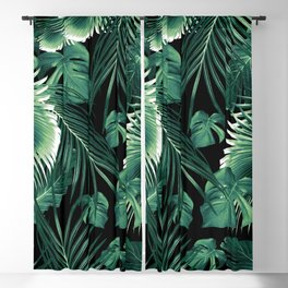 Tropical Jungle Leaves Dream #6 #tropical #decor #art #society6 Blackout Curtain
