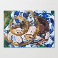 Mushroomy-shroomens. Canvas Print