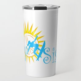 Salty Sista Surf  Travel Mug
