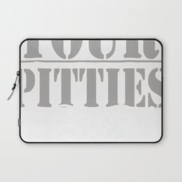 Funny Show Me Your Pitties Pitbull Shirt Laptop Sleeve