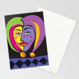 Jesters Valentine Stationery Cards