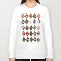 diamonds Long Sleeve T-shirts featuring DIAMONDS by Brandon Neher