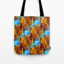 Collage On Collage Tote Bag