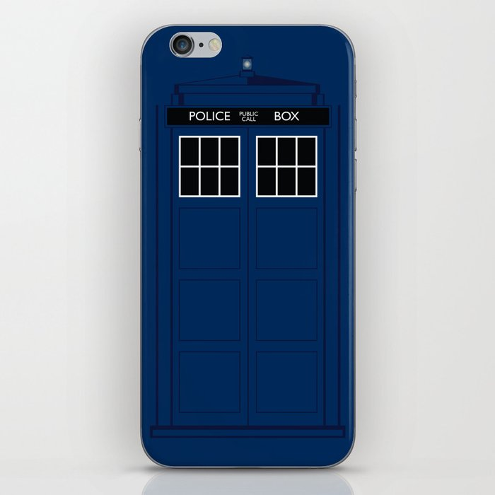 Doctor Who - The Doctor is in.....  iPhone Skin