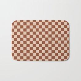GrannySquare-TreeStem+RollingPin Bath Mat