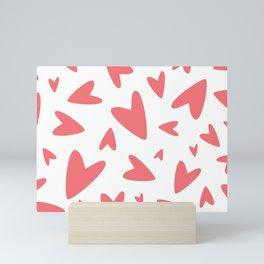 Hearts Mini Art Print