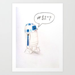 The Bad Robot Art Print
