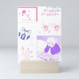 sailormoon fanart Mini Art Print