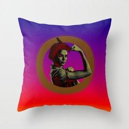 I'm a Woman Throw Pillow