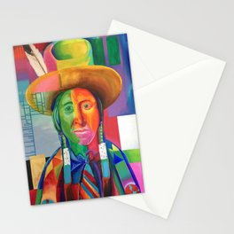Cowboy Indian Stationery Cards