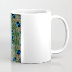 Peacock Abstract Mug