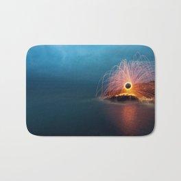 Sparking into the Sea Bath Mat