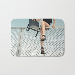 Hoping Fences Bath Mat