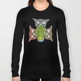 Lucky Kitten Bamboo Long Sleeve T-shirt