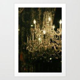 New Orleans Chandelier Art Print