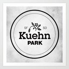 Kuehn Park Art Print