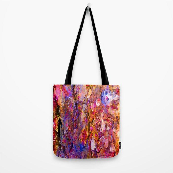 Bark Rainbow Tote Bag