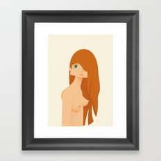 PRUDE 'n' NUDE Framed Art Print